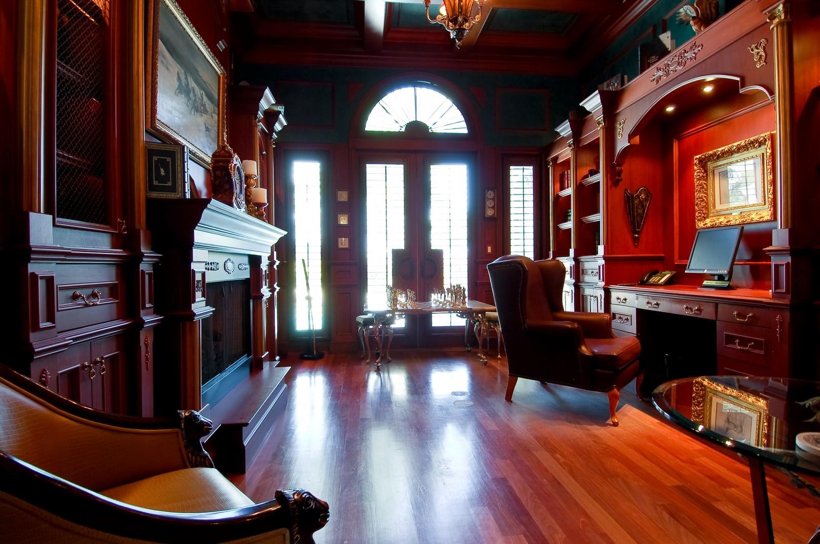 Real Estate Photography - 215 Royal Palm Way, Boca Raton, FL, 33432 - Study