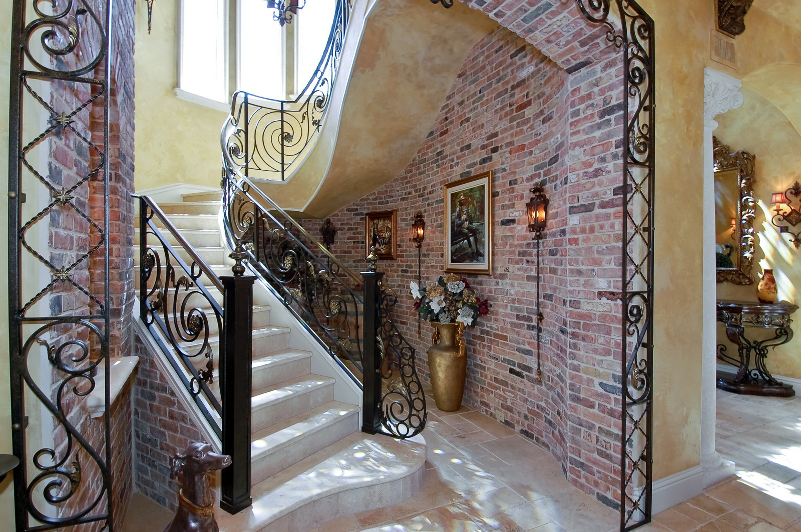 Real Estate Photography - 215 Royal Palm Way, Boca Raton, FL, 33432 - Staircase