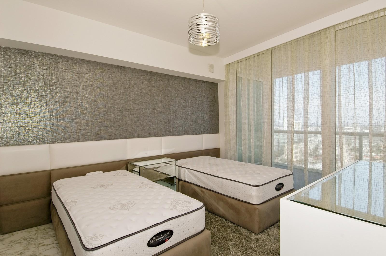 Real Estate Photography - 450 Alton Rd, Unit 2910, Miami Beach, FL, 33139 - Bedroom