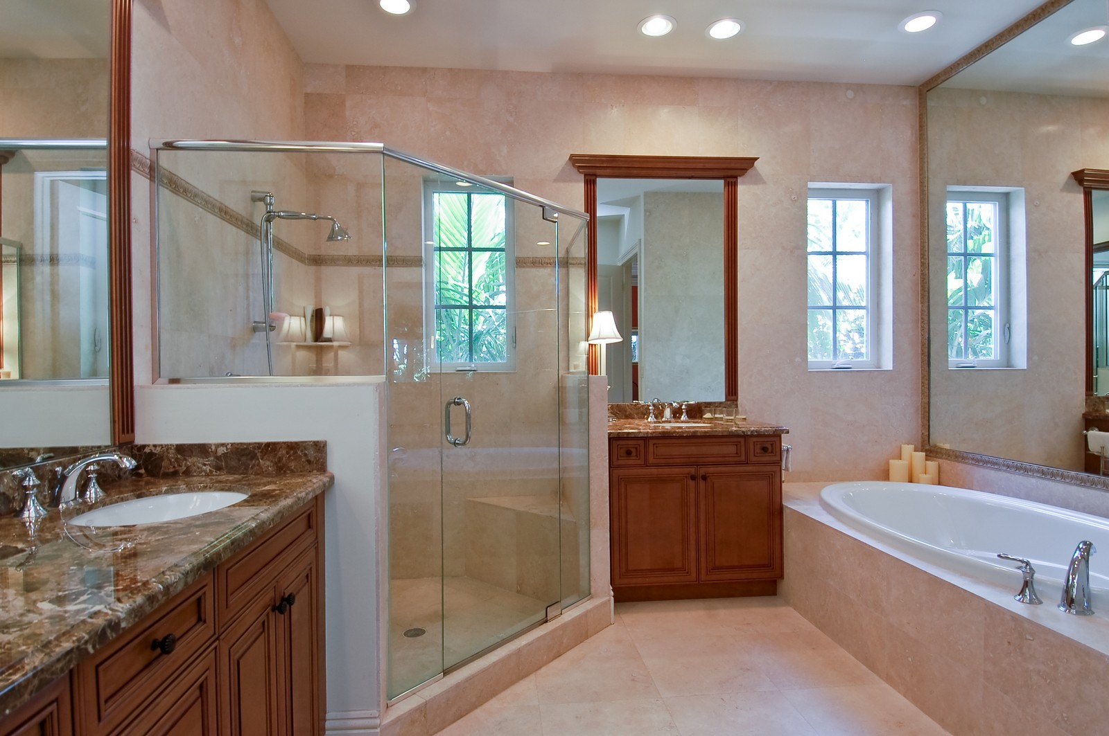 Real Estate Photography - 114 Venetian Dr, Delray Beach, FL, 33483 - Master Bathroom