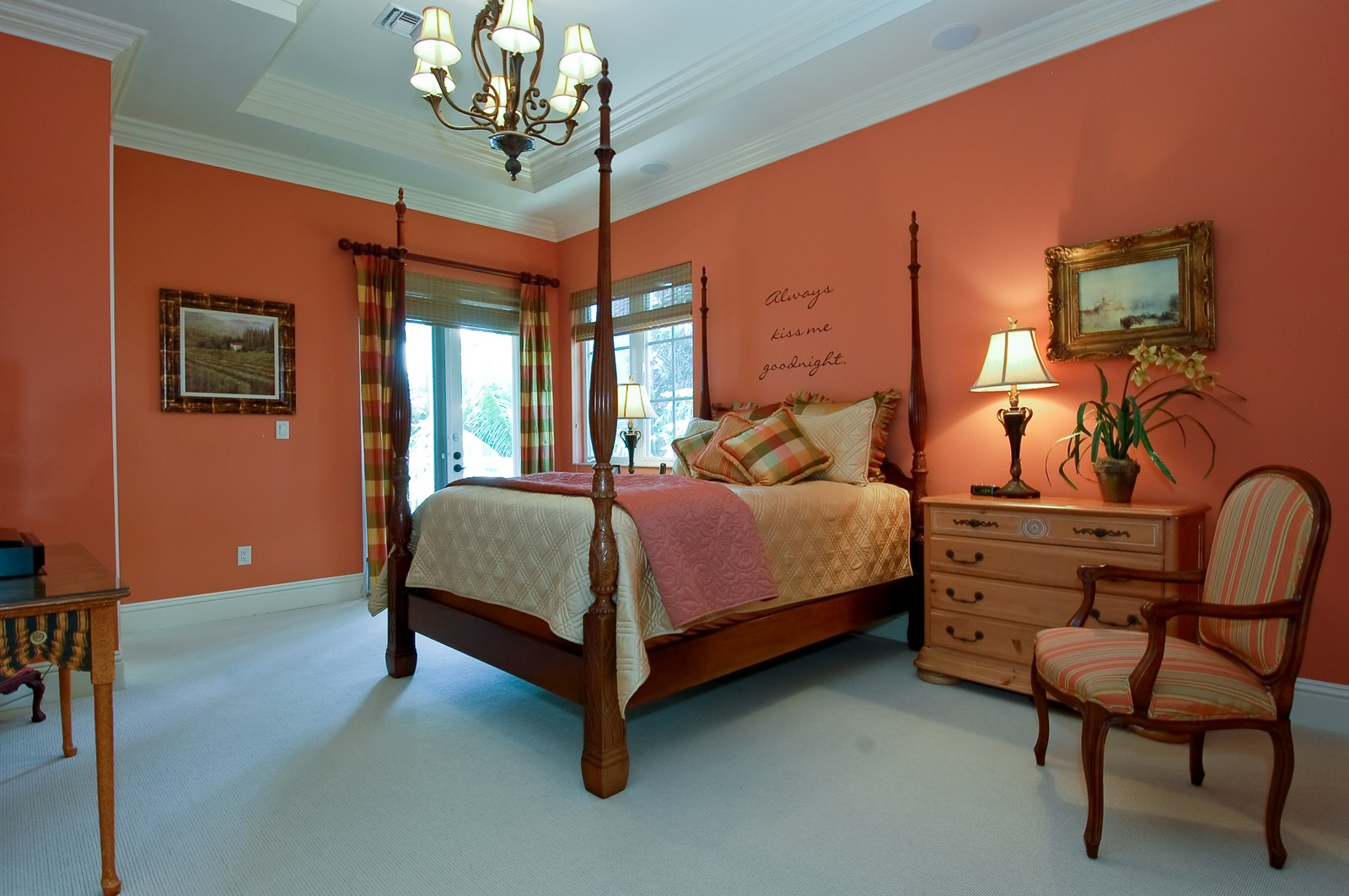 Real Estate Photography - 114 Venetian Dr, Delray Beach, FL, 33483 - Master Bedroom