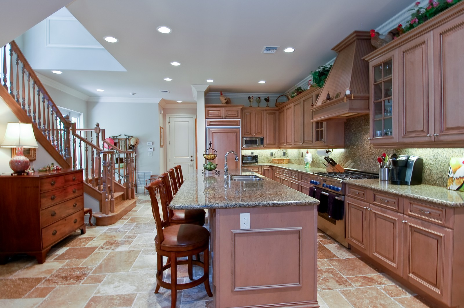 Real Estate Photography - 114 Venetian Dr, Delray Beach, FL, 33483 - Kitchen