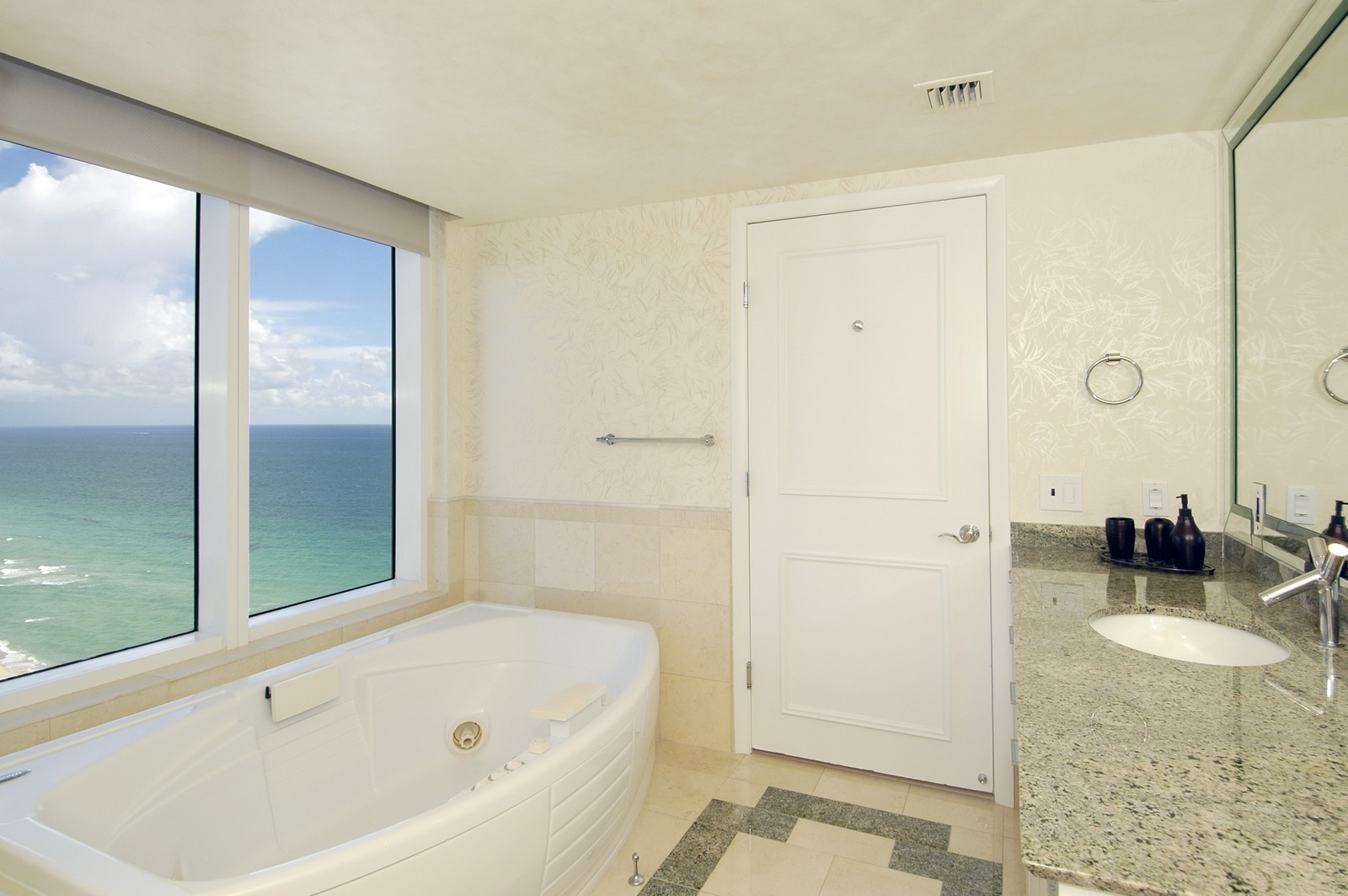Real Estate Photography - 18911 Collins Ave, Unit 2601, Sunny Isles Beach, FL, 33160 - Master Bathroom