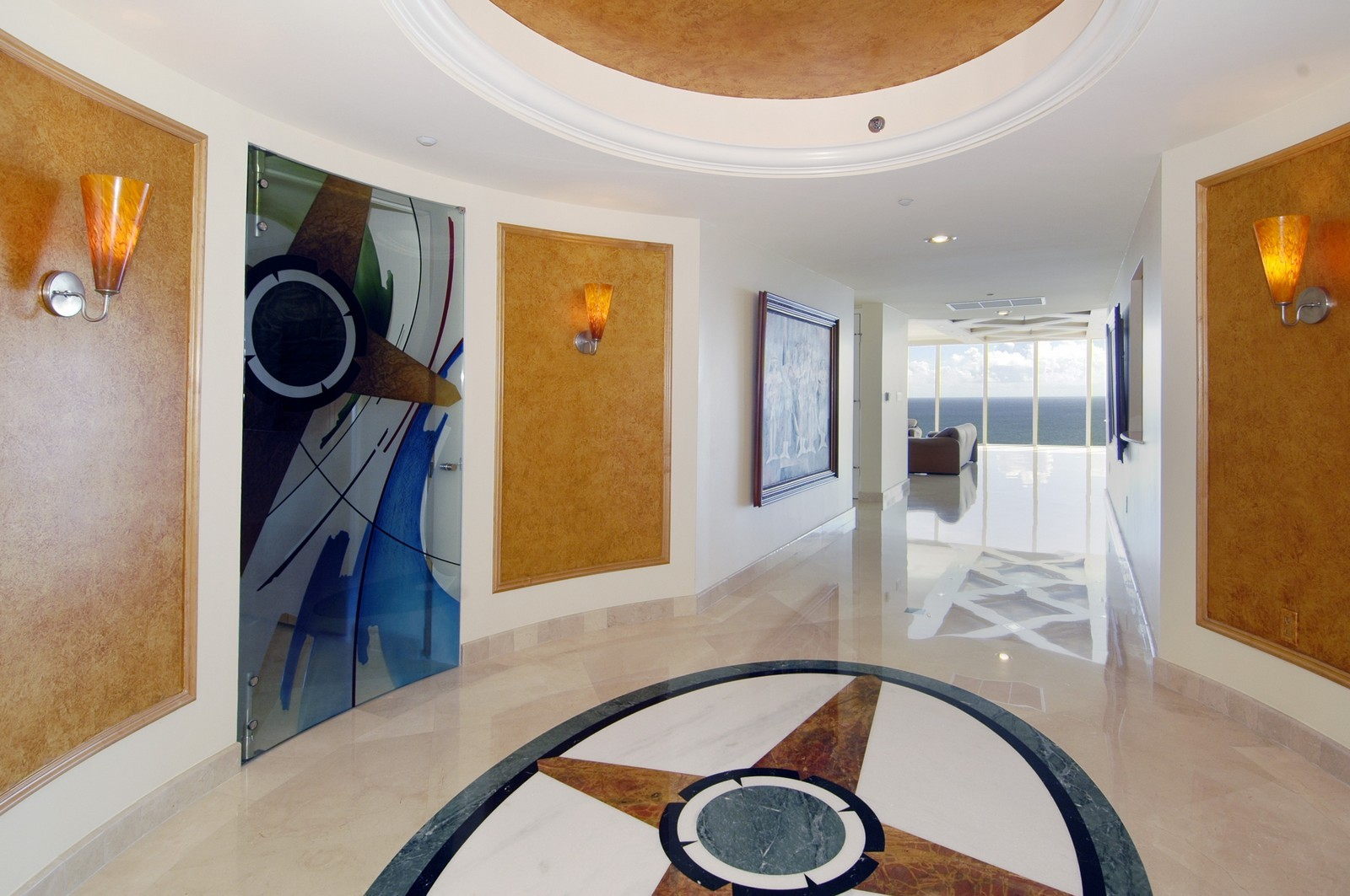 Real Estate Photography - 18911 Collins Ave, Unit 2601, Sunny Isles Beach, FL, 33160 - Foyer