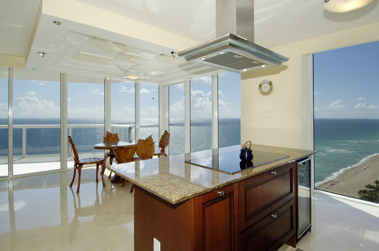 Real Estate Photography - 18911 Collins Ave, Unit 2601, Sunny Isles Beach, FL, 33160 - Kitchen