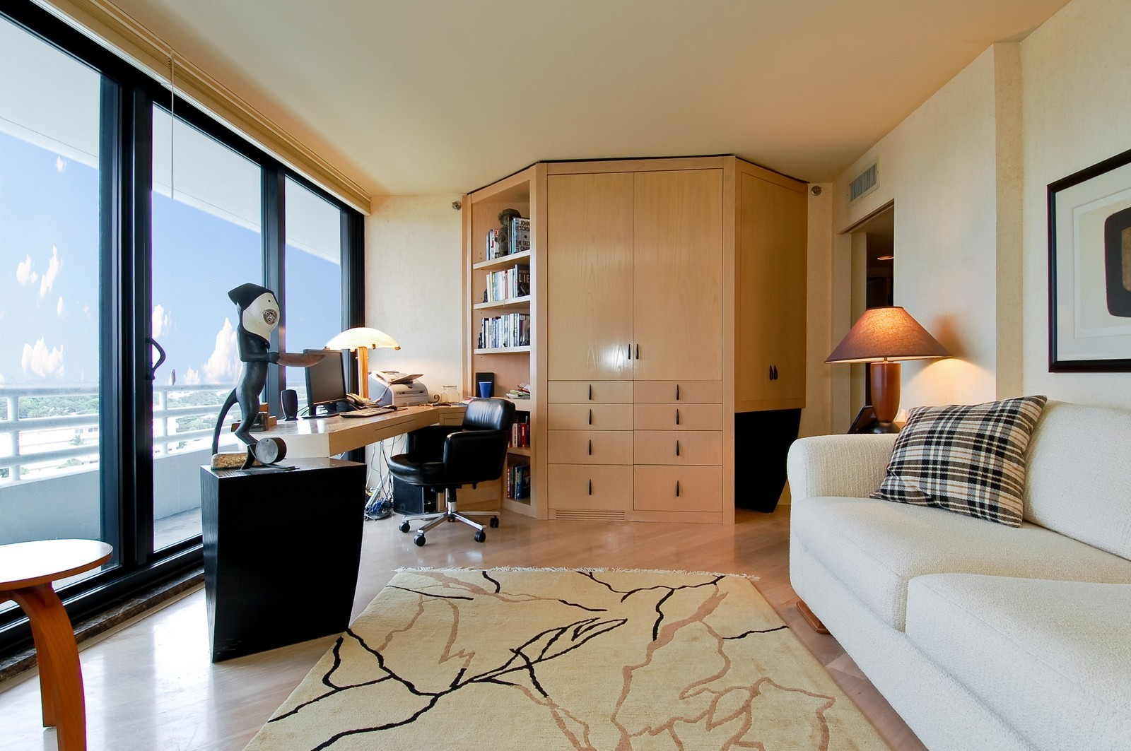 Real Estate Photography - 1500 S Ocean Blvd, Unit S903/4, Boca Raton, FL, 33432 - 3rd Bedroom