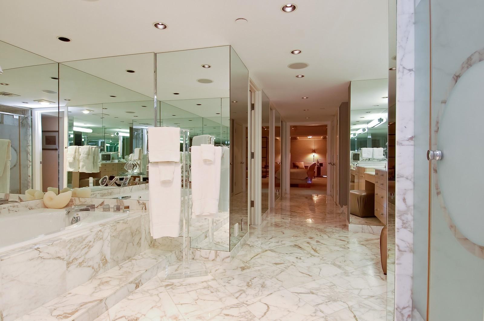 Real Estate Photography - 1500 S Ocean Blvd, Unit S903/4, Boca Raton, FL, 33432 - Master Bathroom
