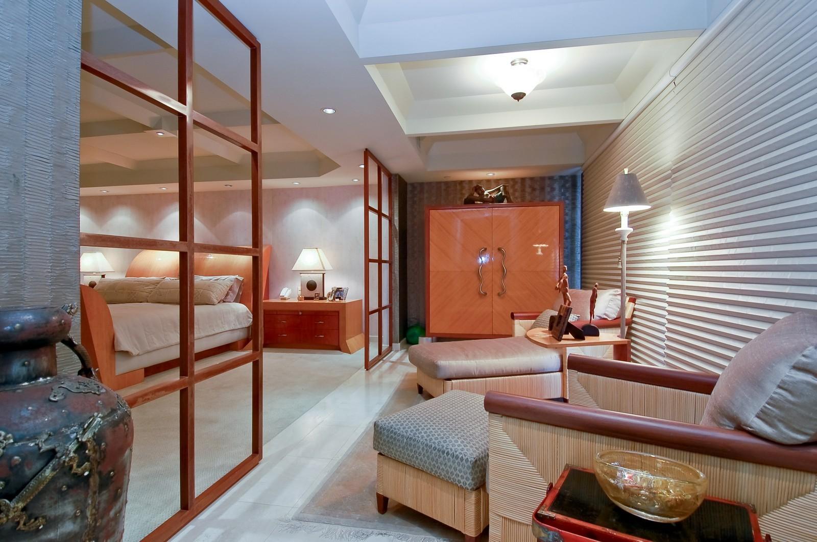 Real Estate Photography - 1500 S Ocean Blvd, Unit S903/4, Boca Raton, FL, 33432 - Master Bedroom