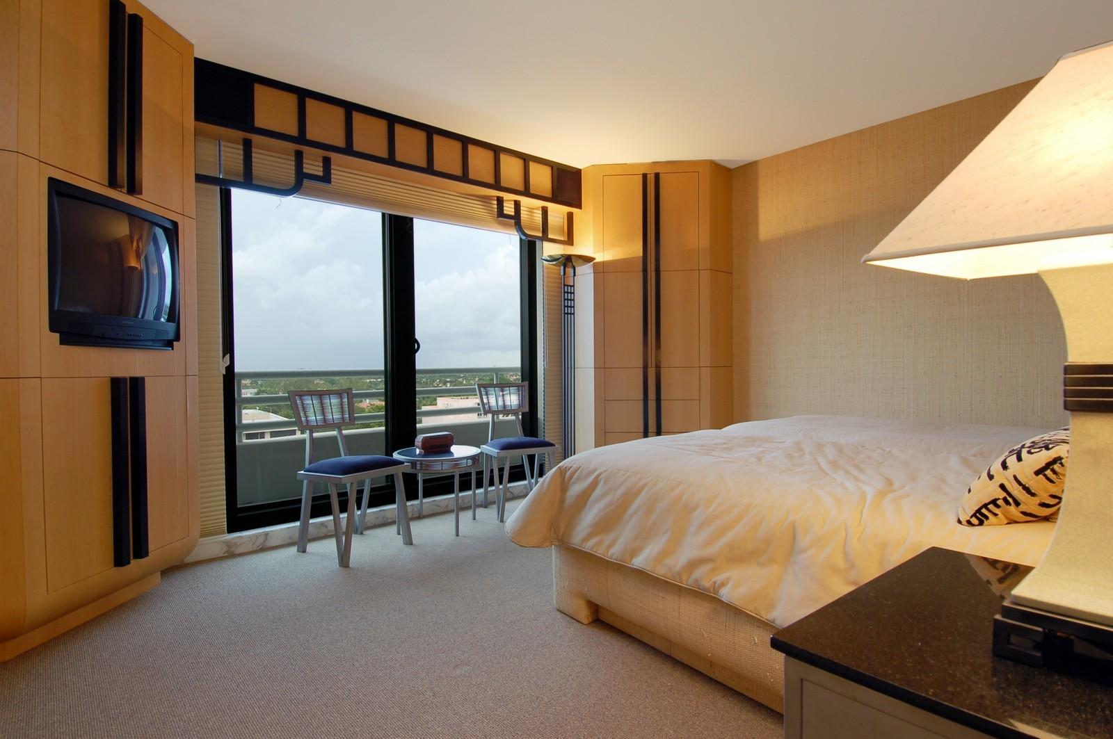 Real Estate Photography - 1500 S Ocean Blvd, Unit S903/4, Boca Raton, FL, 33432 - Bedroom