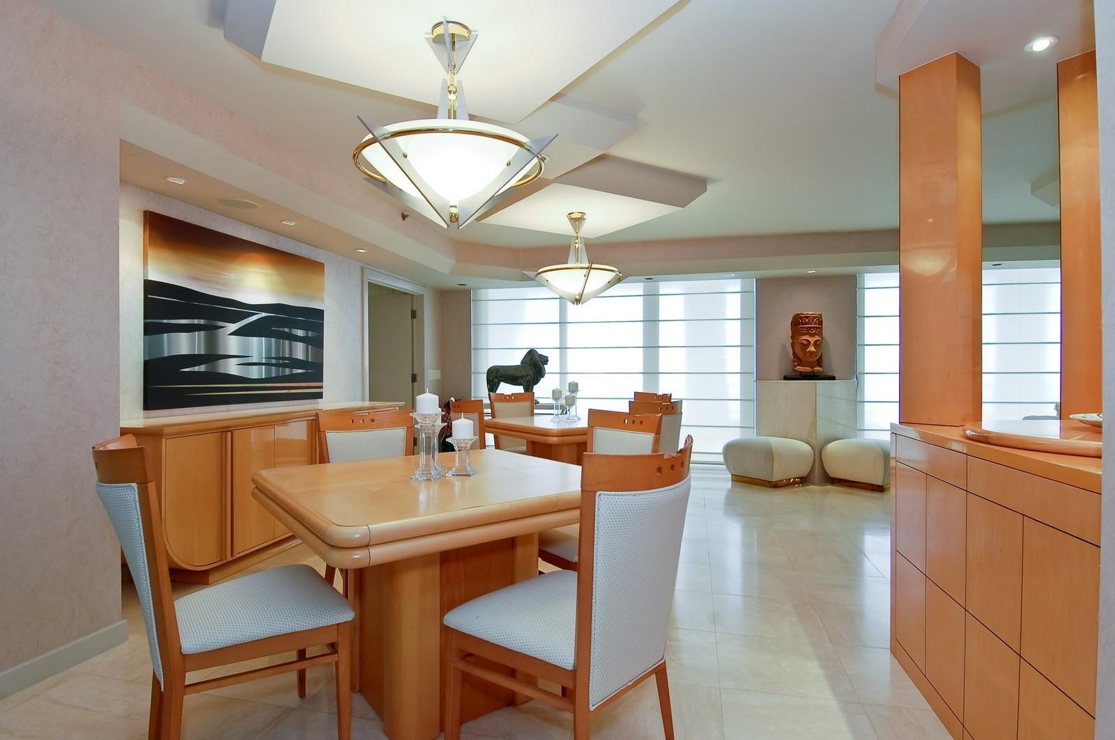 Real Estate Photography - 1500 S Ocean Blvd, Unit S903/4, Boca Raton, FL, 33432 - Dining Room