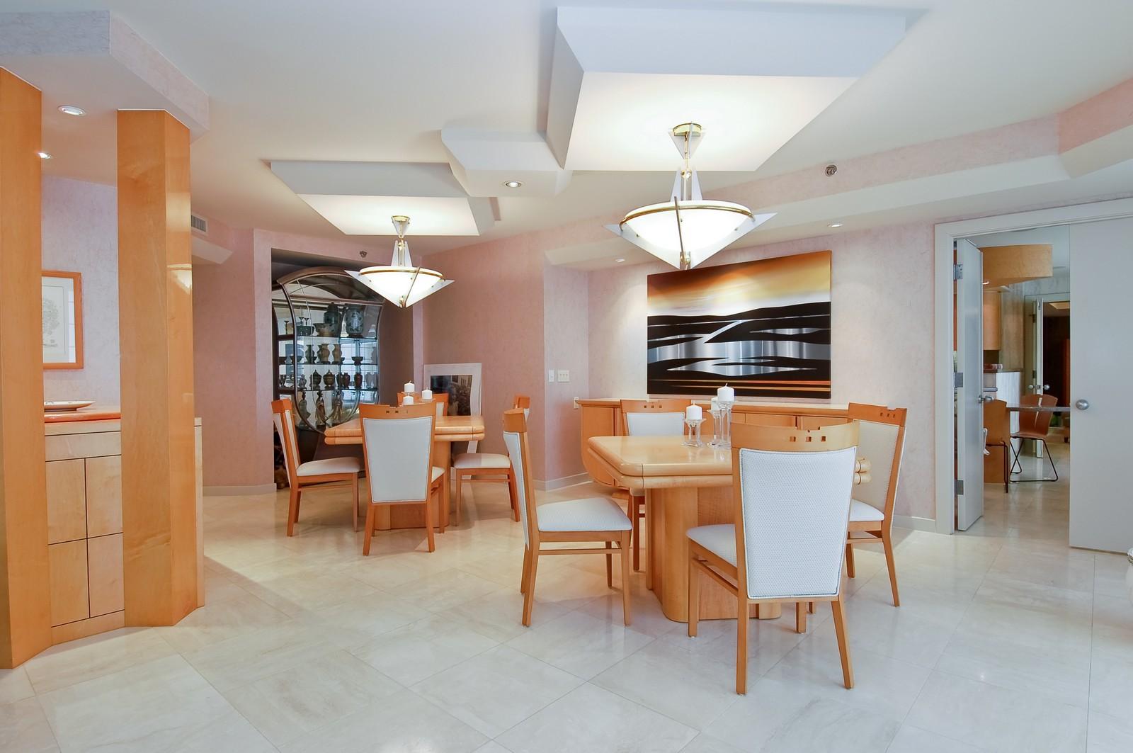 Real Estate Photography - 1500 S Ocean Blvd, Unit S903/4, Boca Raton, FL, 33432 - Dining Area