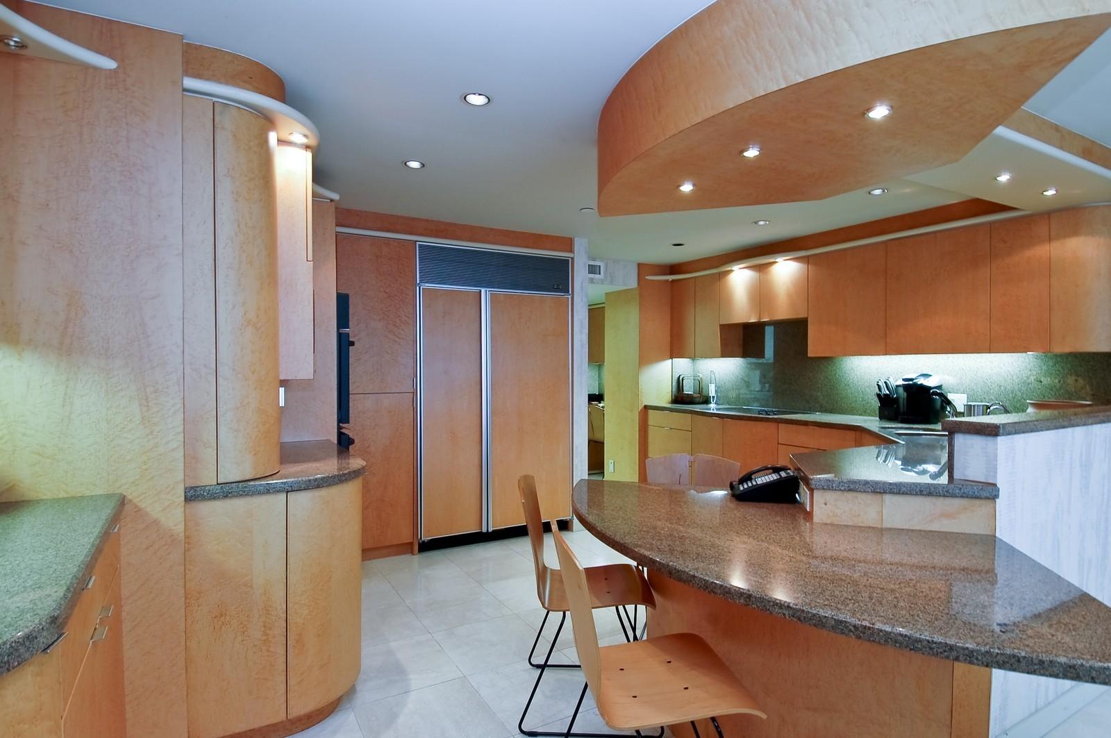 Real Estate Photography - 1500 S Ocean Blvd, Unit S903/4, Boca Raton, FL, 33432 - Kitchen