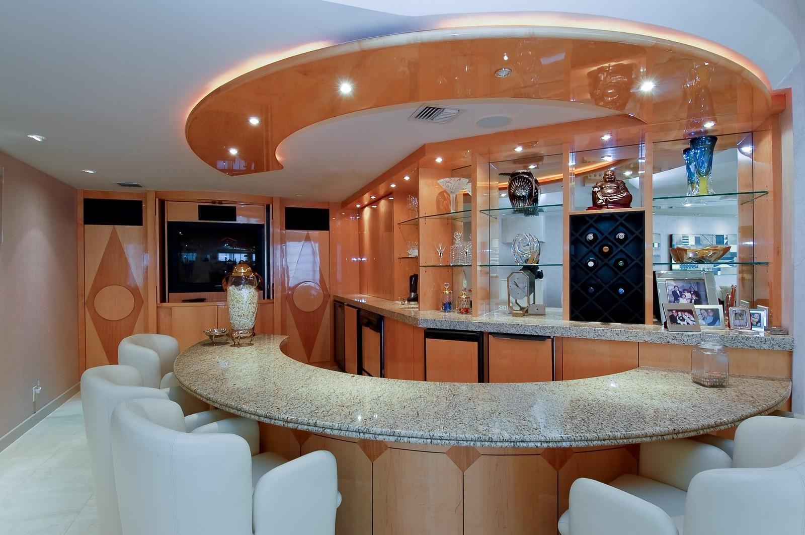 Real Estate Photography - 1500 S Ocean Blvd, Unit S903/4, Boca Raton, FL, 33432 - Bar