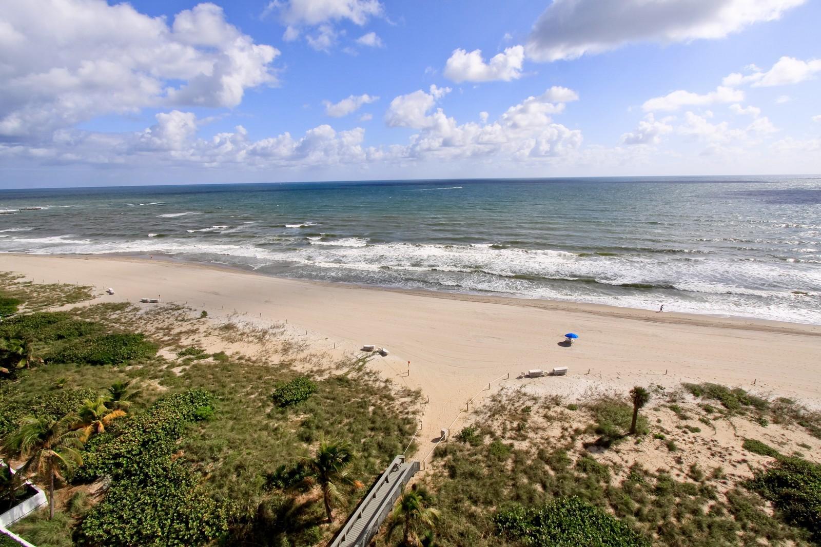 Real Estate Photography - 1500 S Ocean Blvd, Unit S903/4, Boca Raton, FL, 33432 - Ocean View
