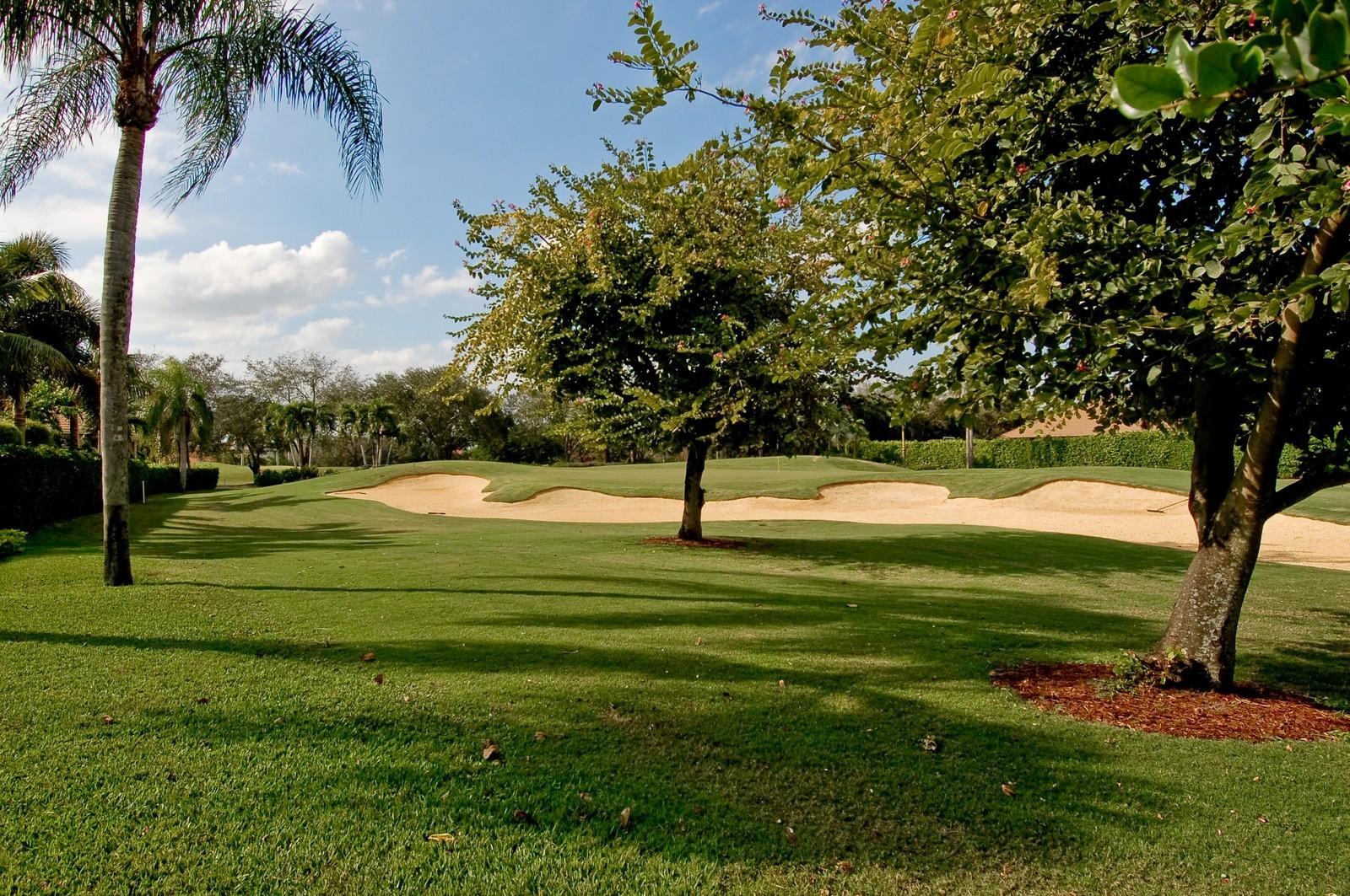 Real Estate Photography - 7339 Mandarin, Boca Raton, FL, 33433 - Golf Course