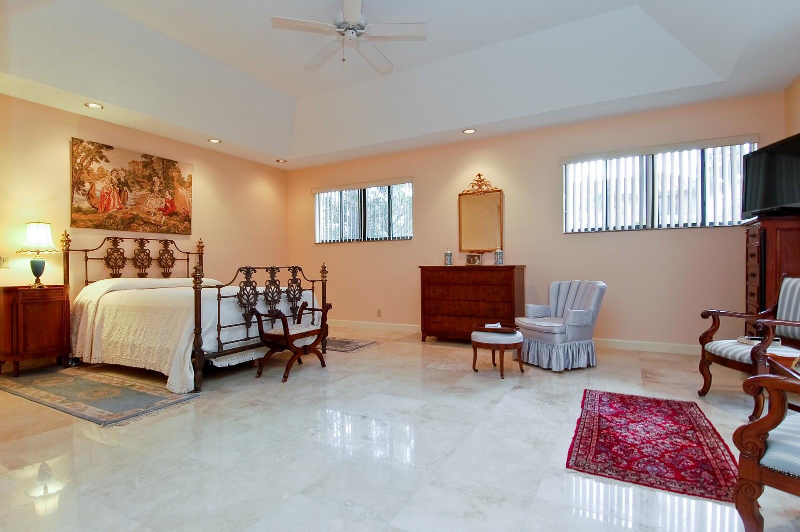 Real Estate Photography - 7339 Mandarin, Boca Raton, FL, 33433 - Master Bedroom