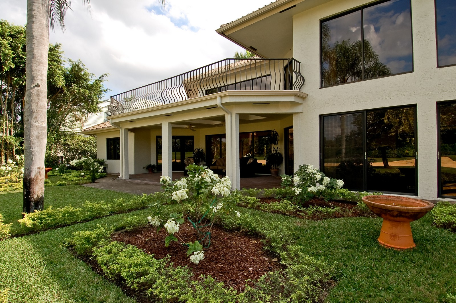 Real Estate Photography - 7339 Mandarin, Boca Raton, FL, 33433 - Garden