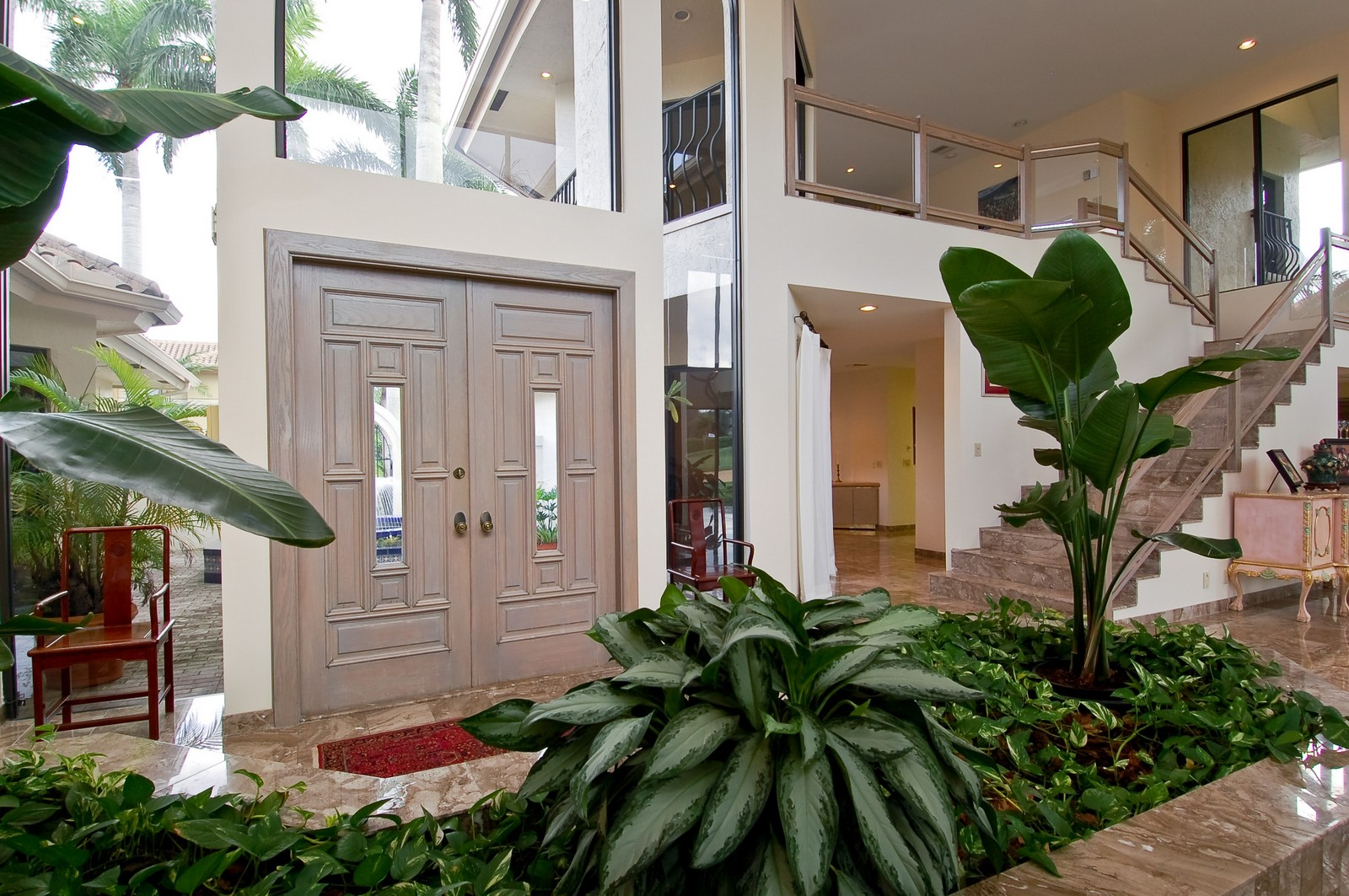 Real Estate Photography - 7339 Mandarin, Boca Raton, FL, 33433 - Foyer