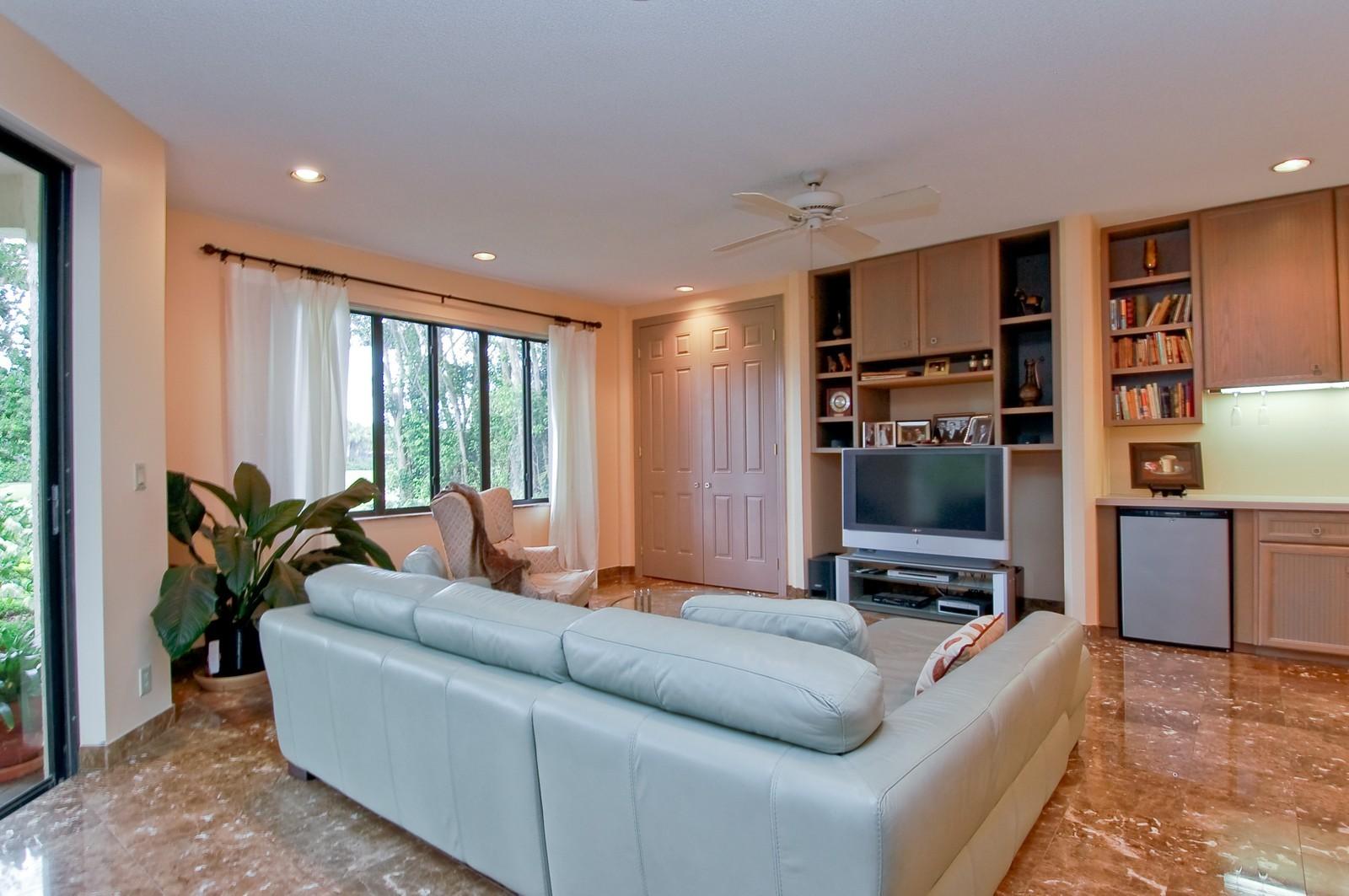 Real Estate Photography - 7339 Mandarin, Boca Raton, FL, 33433 - Den