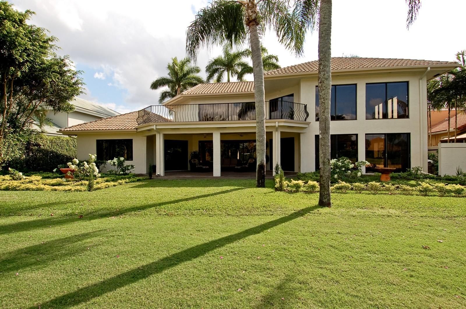 Real Estate Photography - 7339 Mandarin, Boca Raton, FL, 33433 - Rear View