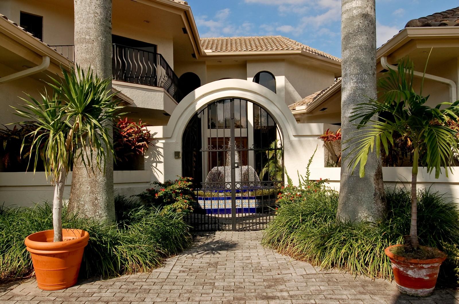 Real Estate Photography - 7339 Mandarin, Boca Raton, FL, 33433 - Entryway