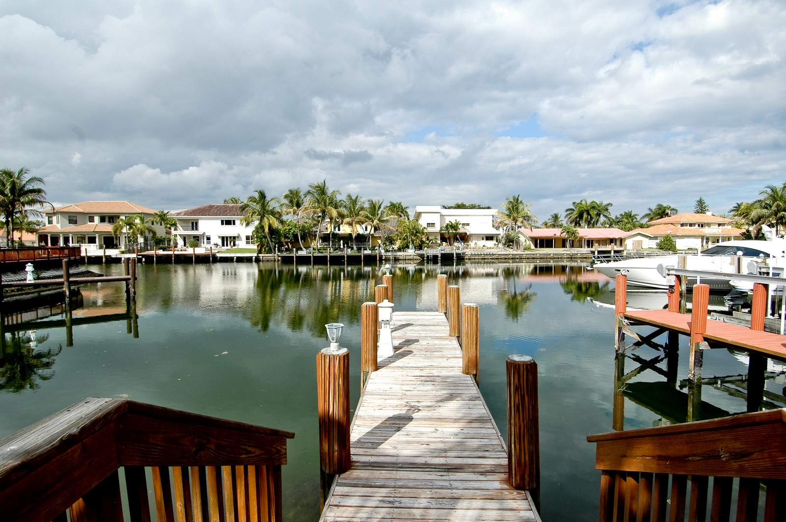 Real Estate Photography - 1081 Habor, Hollywood, FL, 33019 - Dock