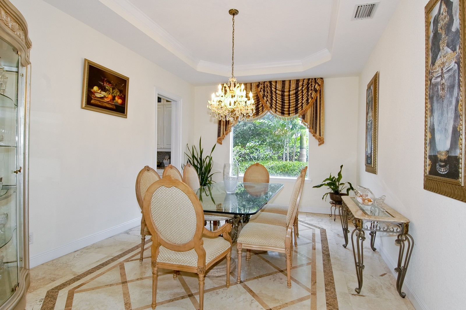 Real Estate Photography - 1081 Habor, Hollywood, FL, 33019 - Dining Room