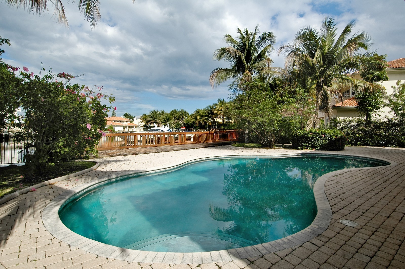 Real Estate Photography - 1081 Habor, Hollywood, FL, 33019 - Pool