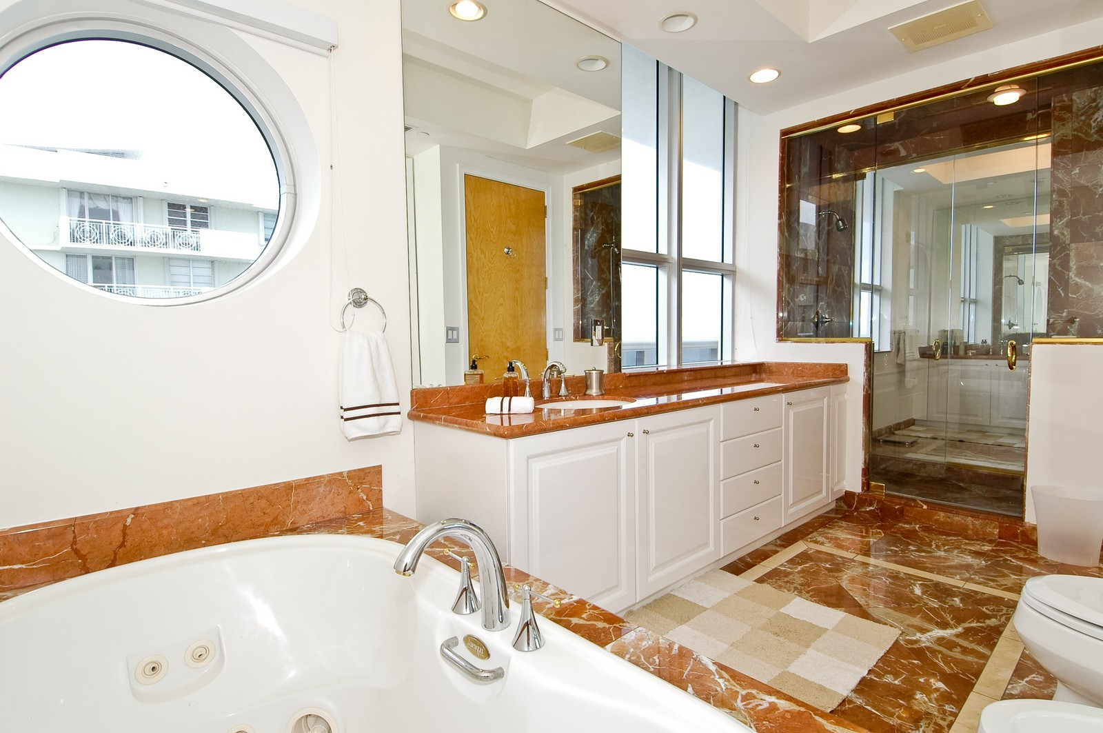 Real Estate Photography - 5801 Collins Ave, PH 1500, Miami Beach, FL, 33140 - Master Bathroom