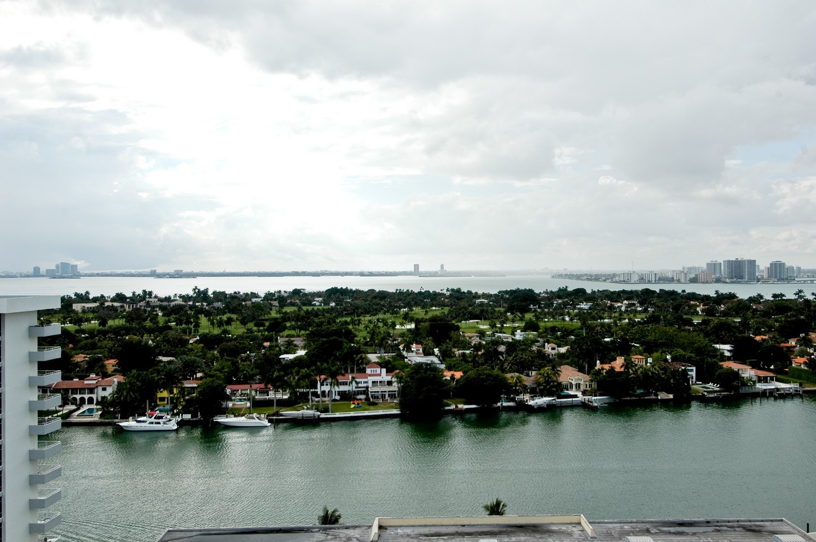 Real Estate Photography - 5801 Collins Ave, PH 1500, Miami Beach, FL, 33140 - Bay View