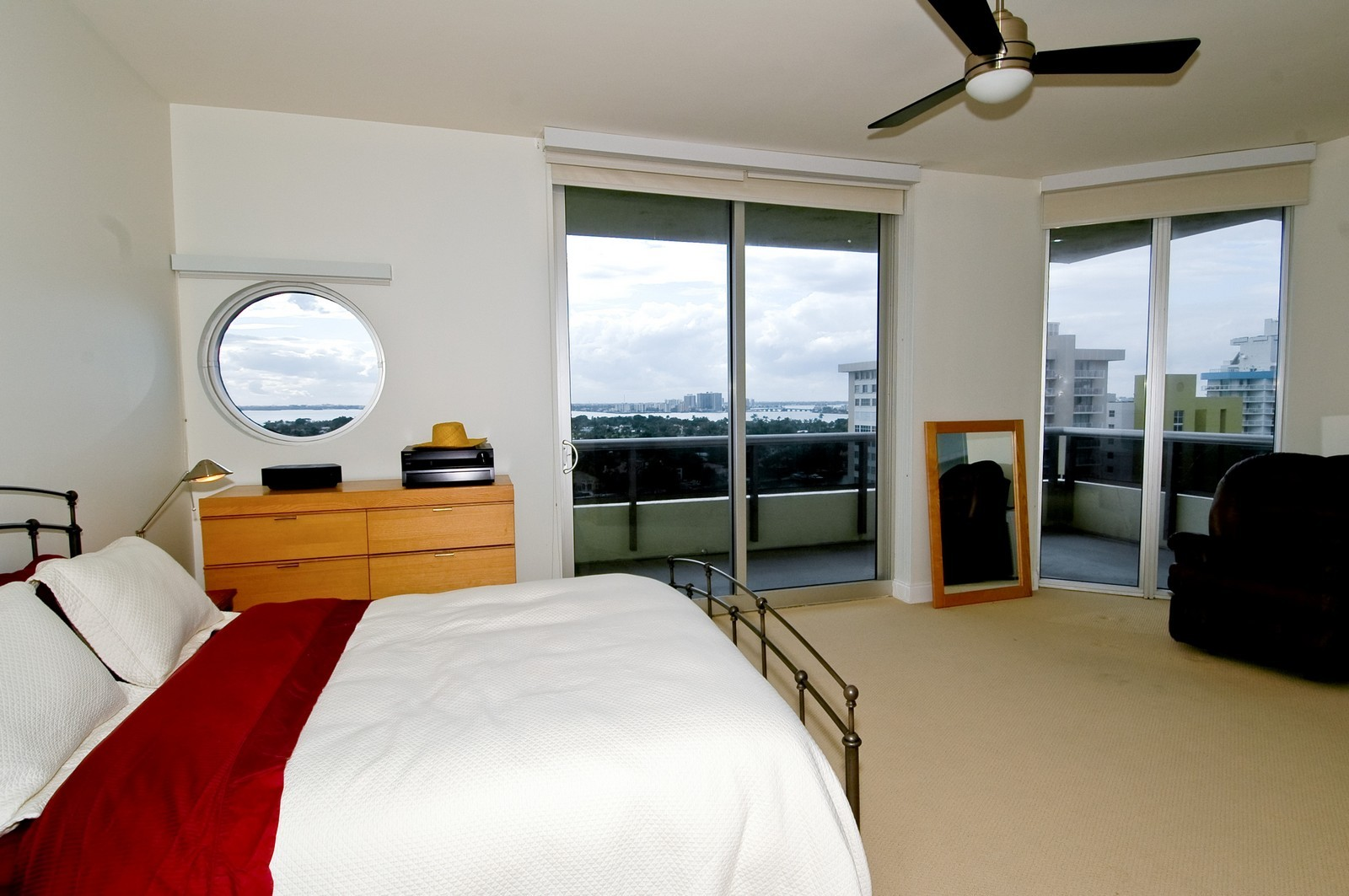 Real Estate Photography - 5801 Collins Ave, PH 1500, Miami Beach, FL, 33140 - Bedroom