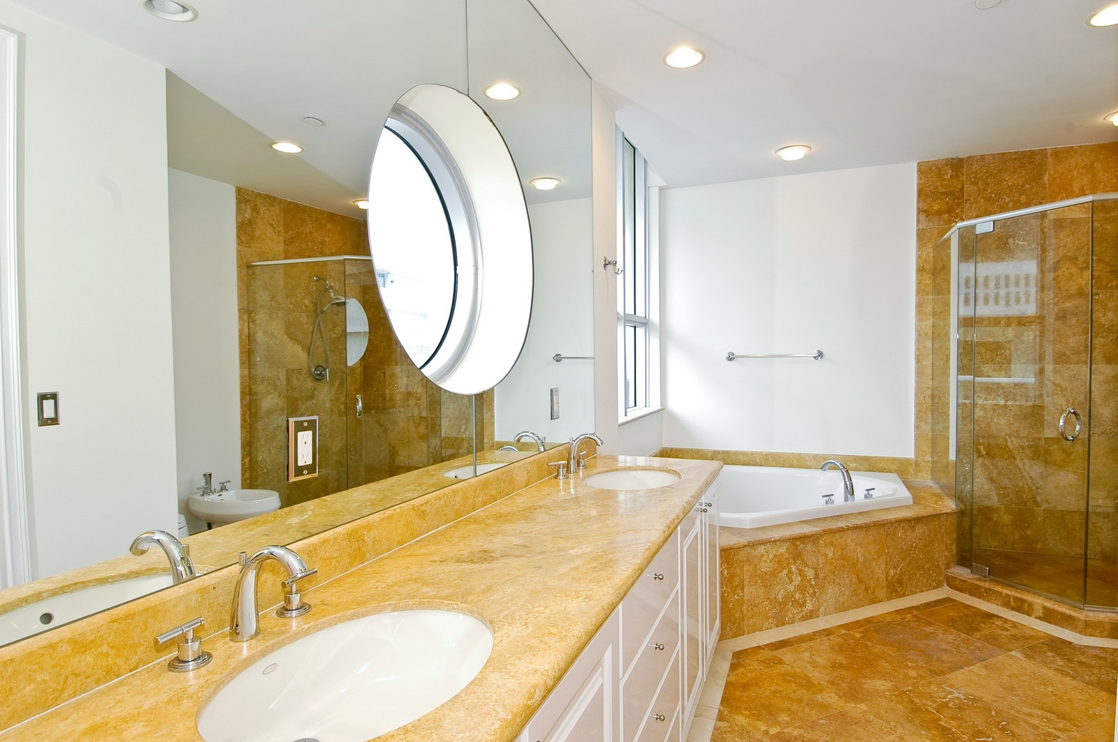 Real Estate Photography - 5801 Collins Ave, PH 1500, Miami Beach, FL, 33140 - Bathroom