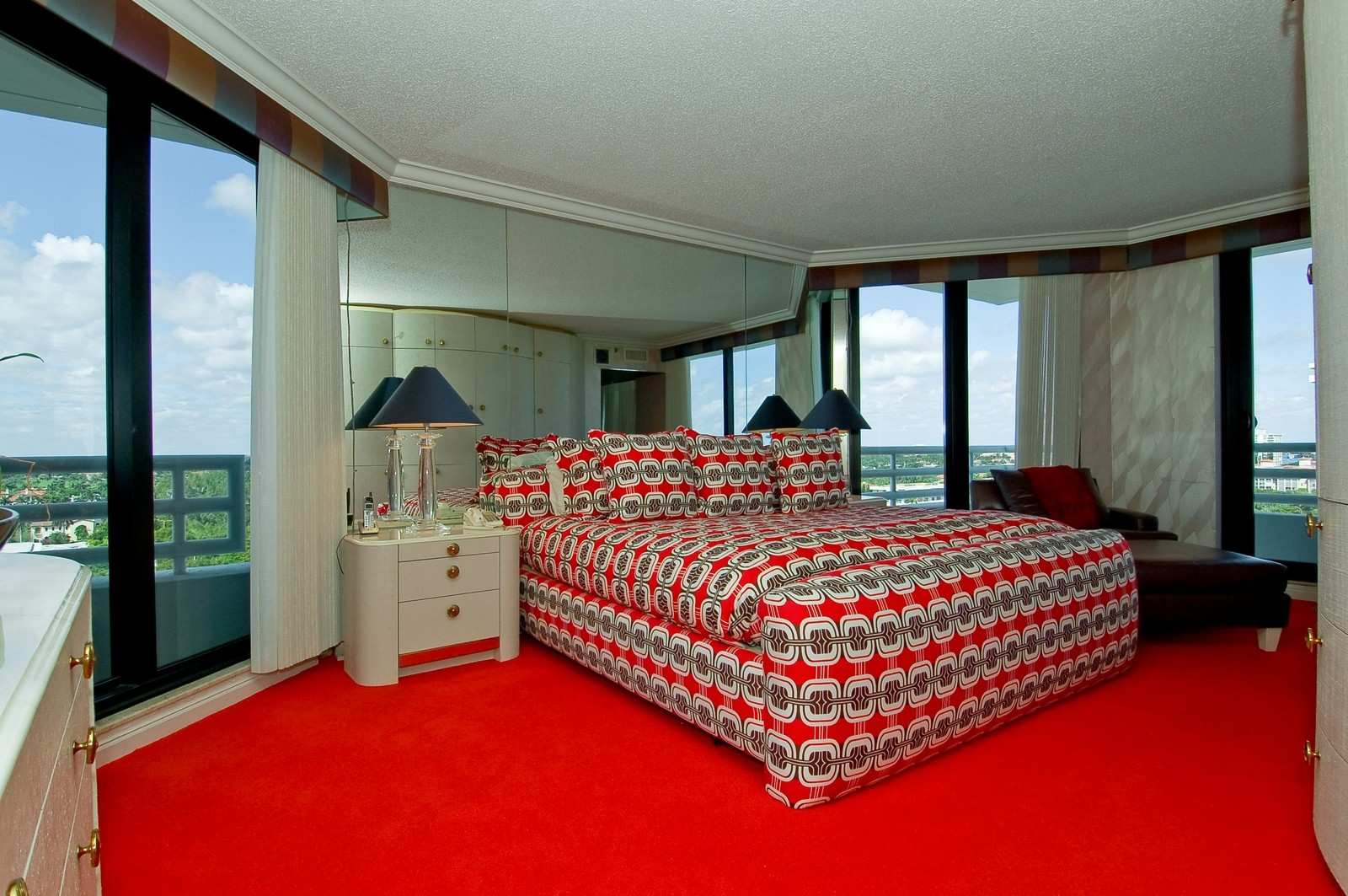 Real Estate Photography - 1500 S Ocean, Unit S-1101, Boca Raton, FL, 33432 - Master Bedroom