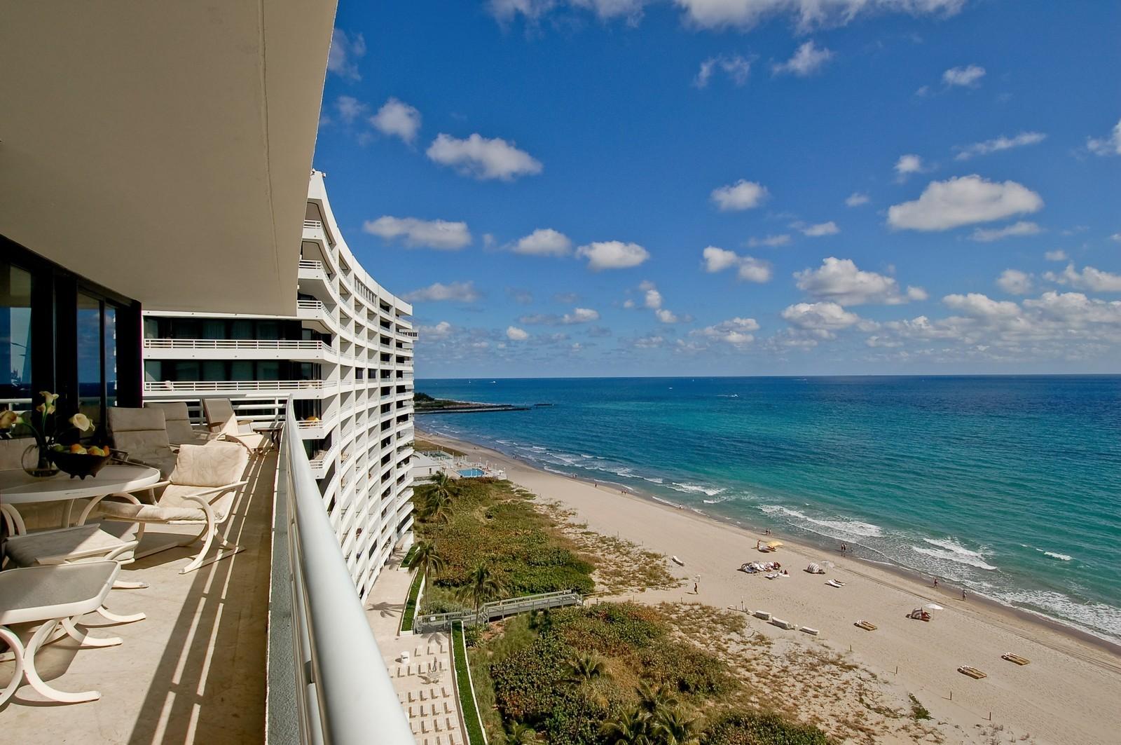 Real Estate Photography - 1500 S Ocean, Unit S-1101, Boca Raton, FL, 33432 - Ocean View