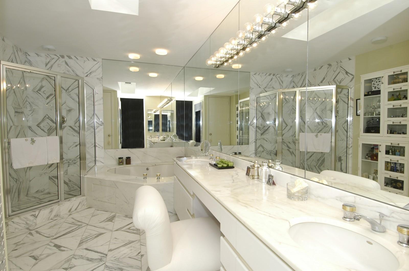 Real Estate Photography - 3685 NE 195 Ter, Aventura, FL, 33180 - Master Bathroom