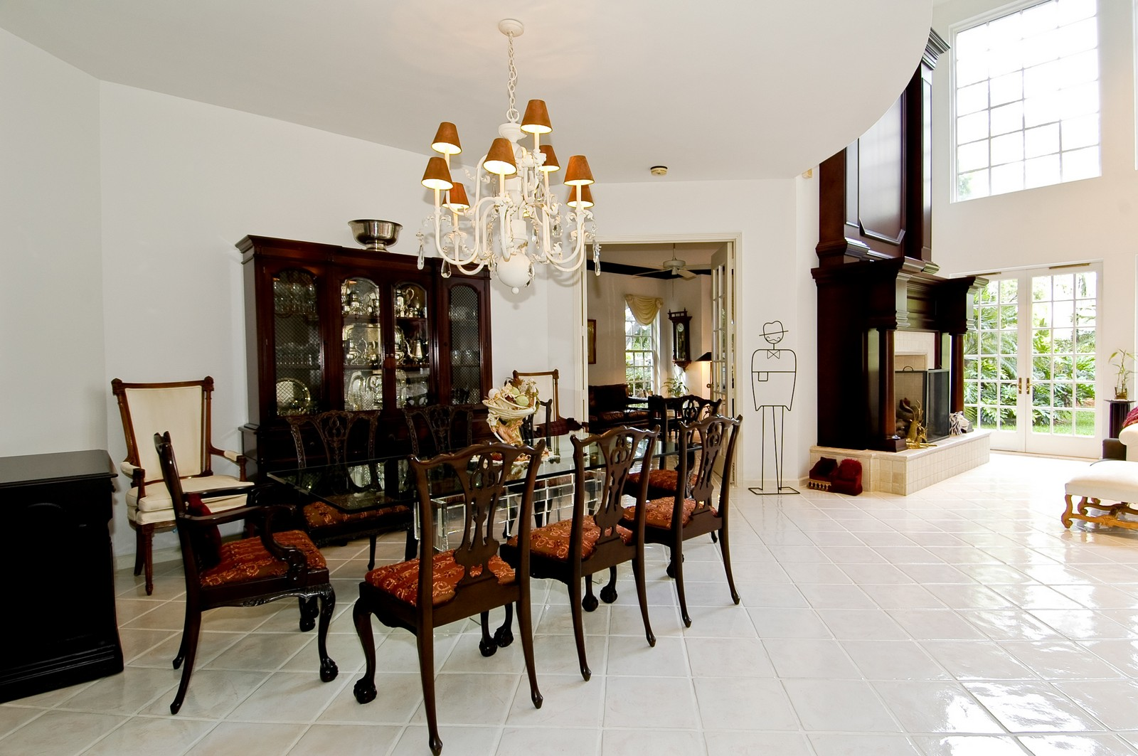 Real Estate Photography - 3685 NE 195 Ter, Aventura, FL, 33180 - Dining Room