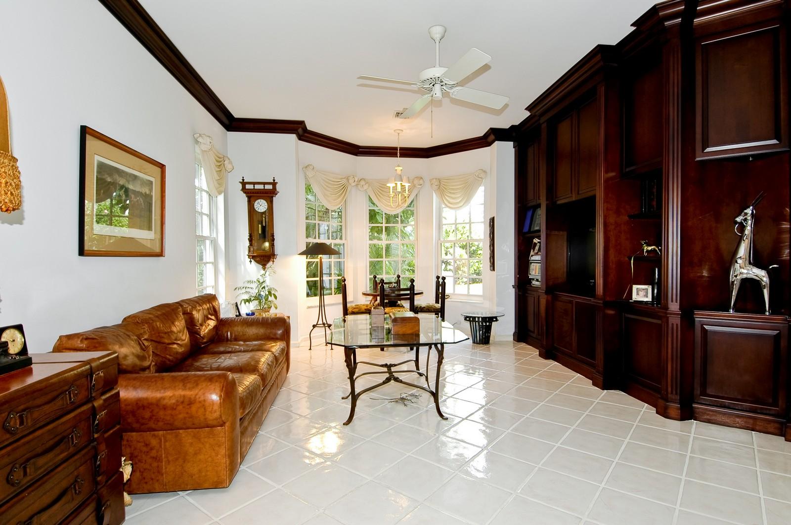 Real Estate Photography - 3685 NE 195 Ter, Aventura, FL, 33180 - Family Room