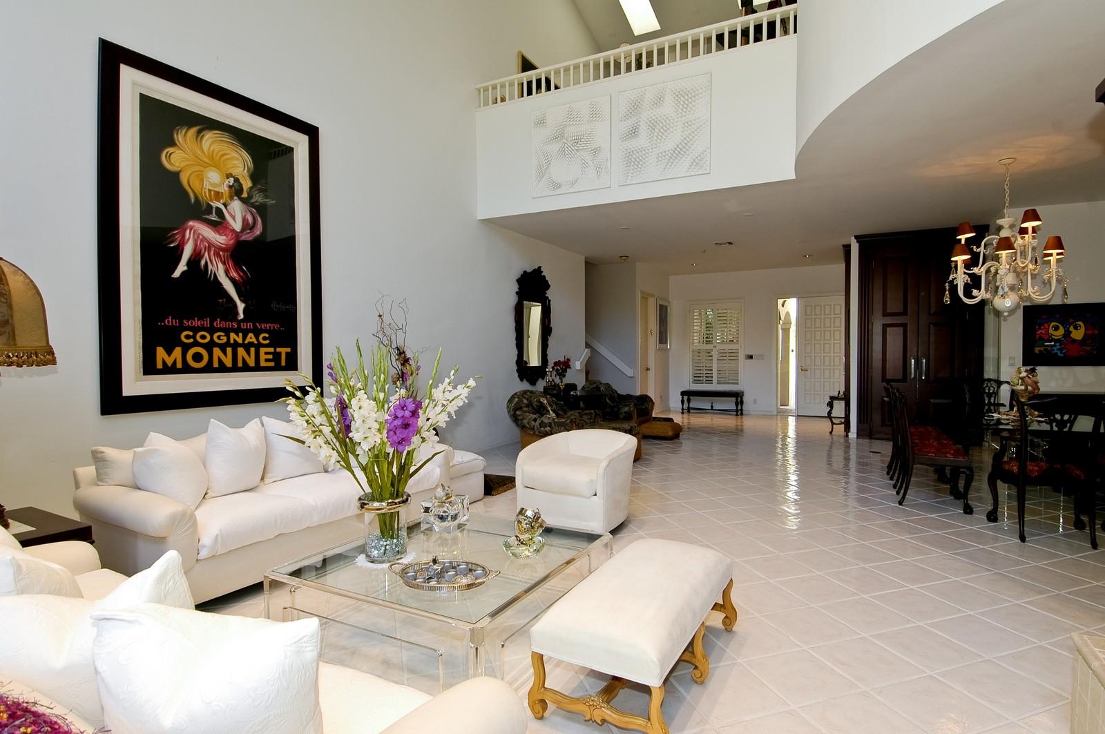 Real Estate Photography - 3685 NE 195 Ter, Aventura, FL, 33180 - Living Room / Dining Room