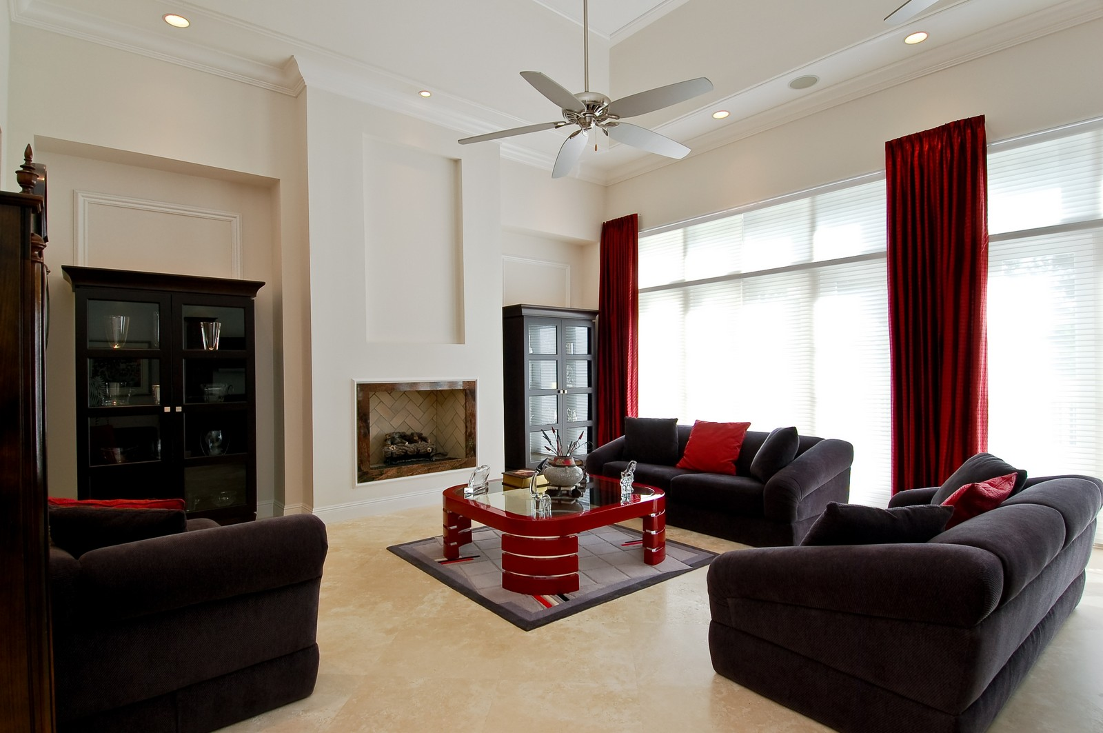 Real Estate Photography - 7478 Valencia Dr, Boca Raton, FL, 33433 - Living Room
