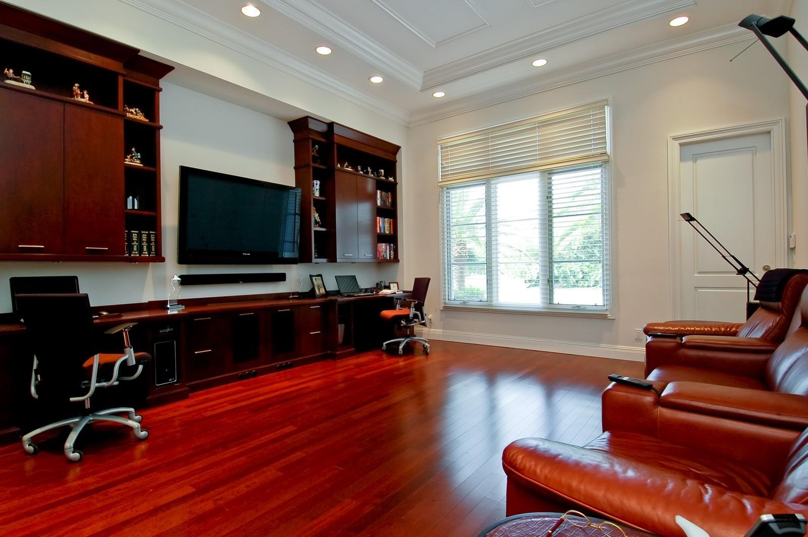 Real Estate Photography - 7478 Valencia Dr, Boca Raton, FL, 33433 - Media Room