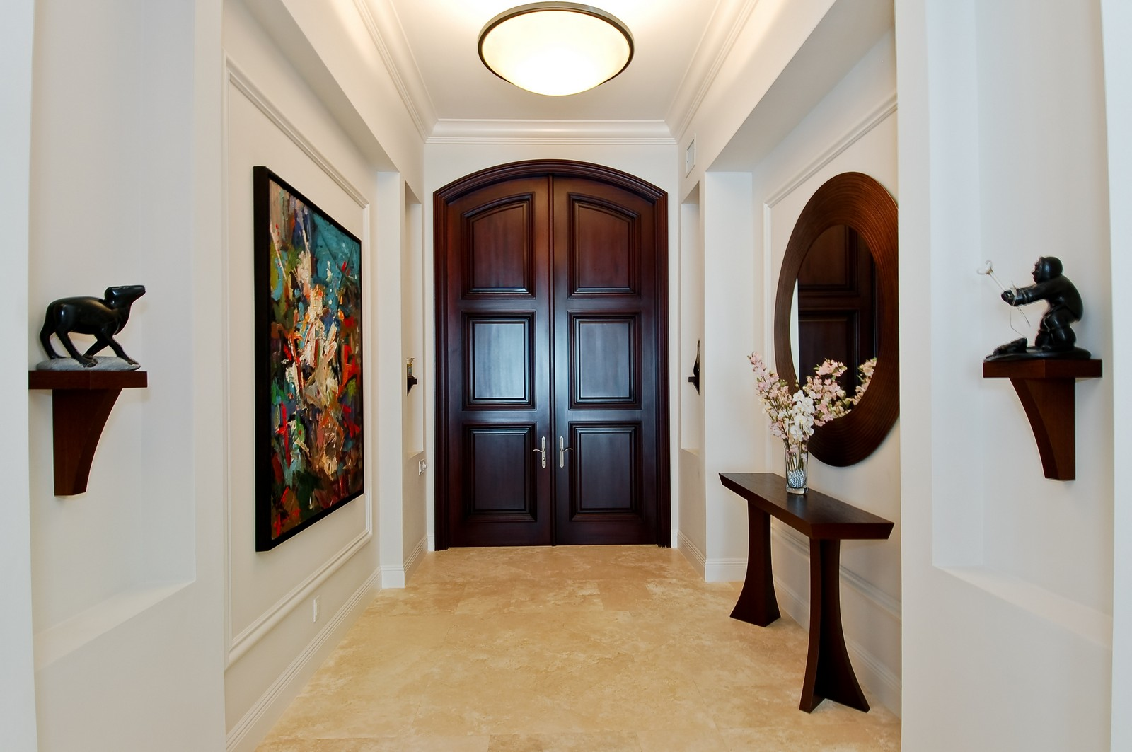 Real Estate Photography - 7478 Valencia Dr, Boca Raton, FL, 33433 - Foyer