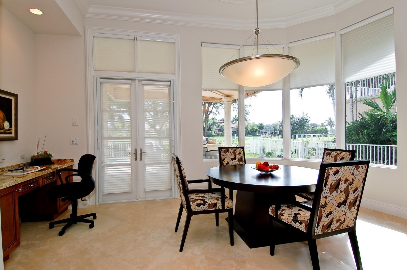 Real Estate Photography - 7478 Valencia Dr, Boca Raton, FL, 33433 - Breakfast Area