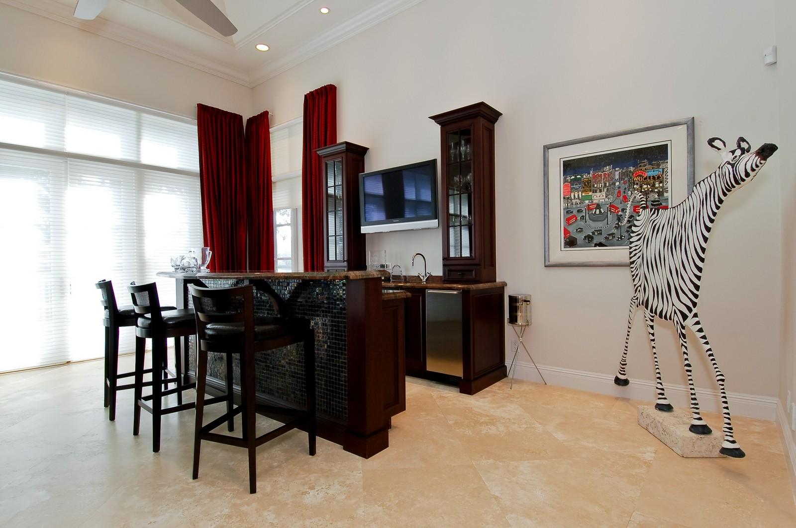 Real Estate Photography - 7478 Valencia Dr, Boca Raton, FL, 33433 - Bar