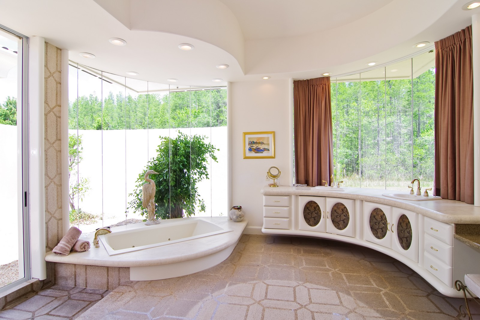 Real Estate Photography - 5601 TPC Blvd, Lutz, FL, 33558 - Master Bathroom