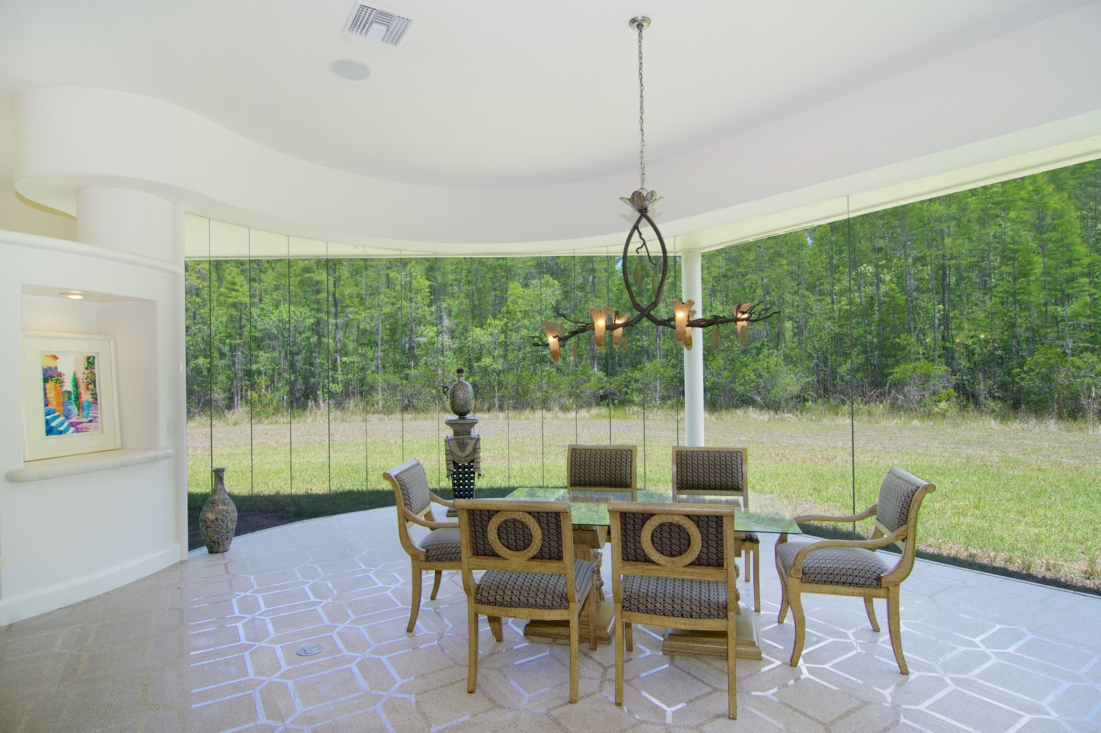 Real Estate Photography - 5601 TPC Blvd, Lutz, FL, 33558 - Dining Room