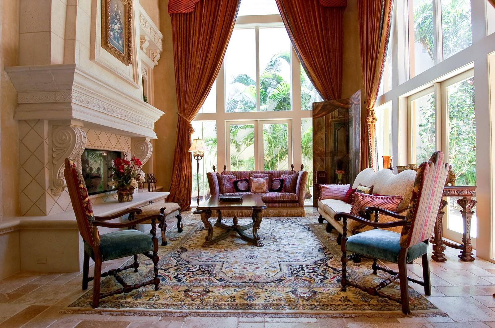 Real Estate Photography - 355 Mizner Lake Dr, Boca Raton, FL, 33432 - Living Room