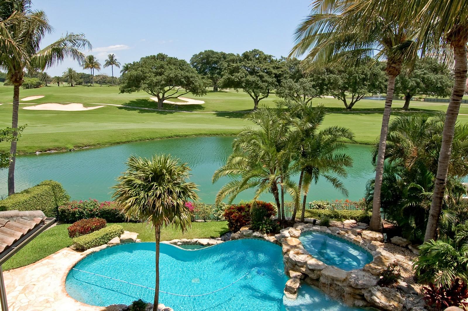 Real Estate Photography - 355 Mizner Lake Dr, Boca Raton, FL, 33432 - Golf Course