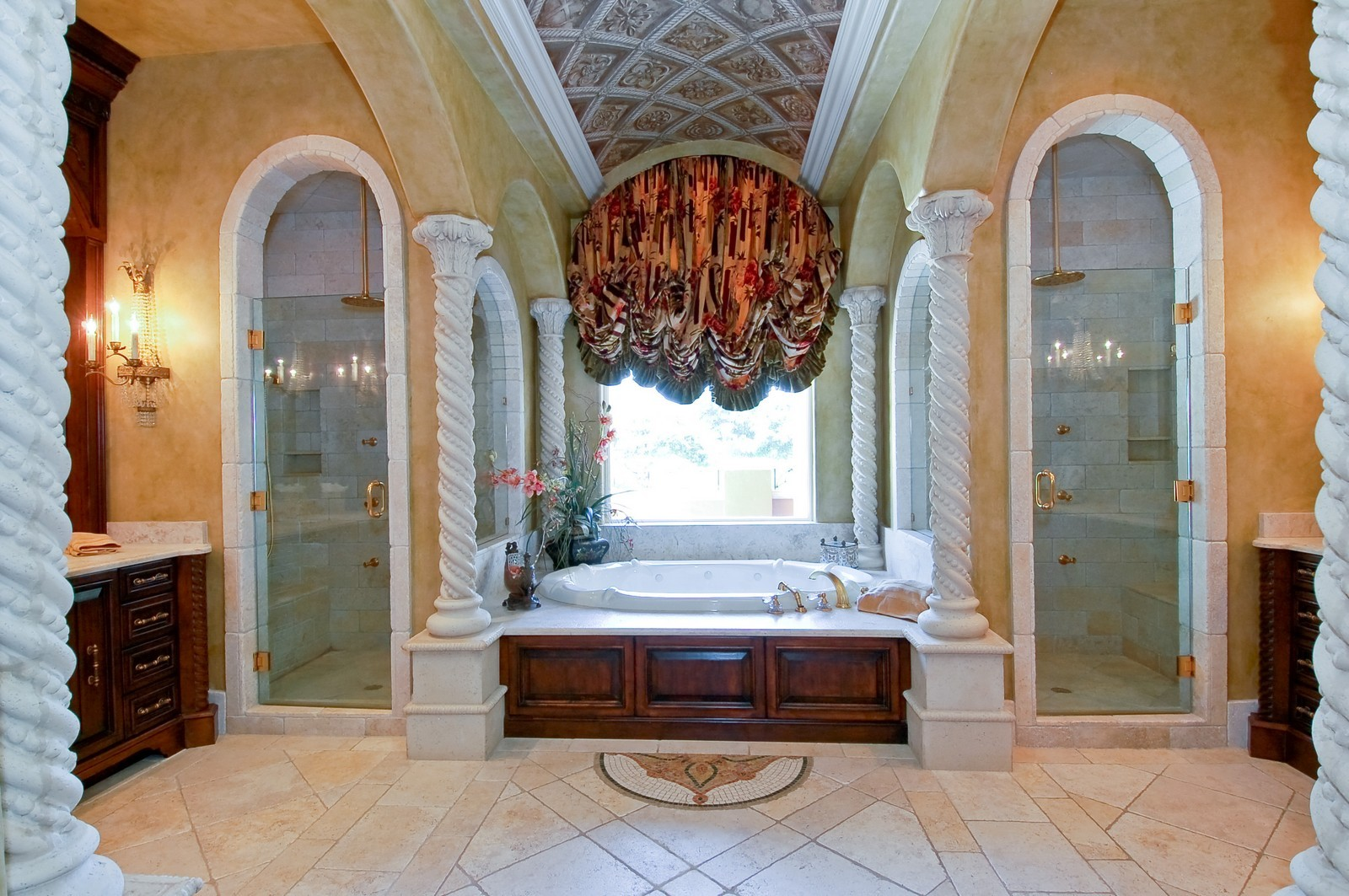 Real Estate Photography - 355 Mizner Lake Dr, Boca Raton, FL, 33432 - Master Bathroom
