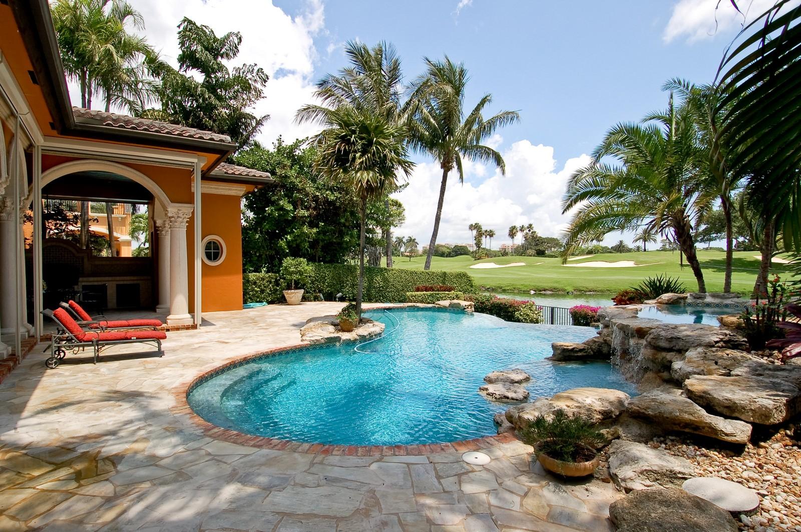 Real Estate Photography - 355 Mizner Lake Dr, Boca Raton, FL, 33432 - Pool