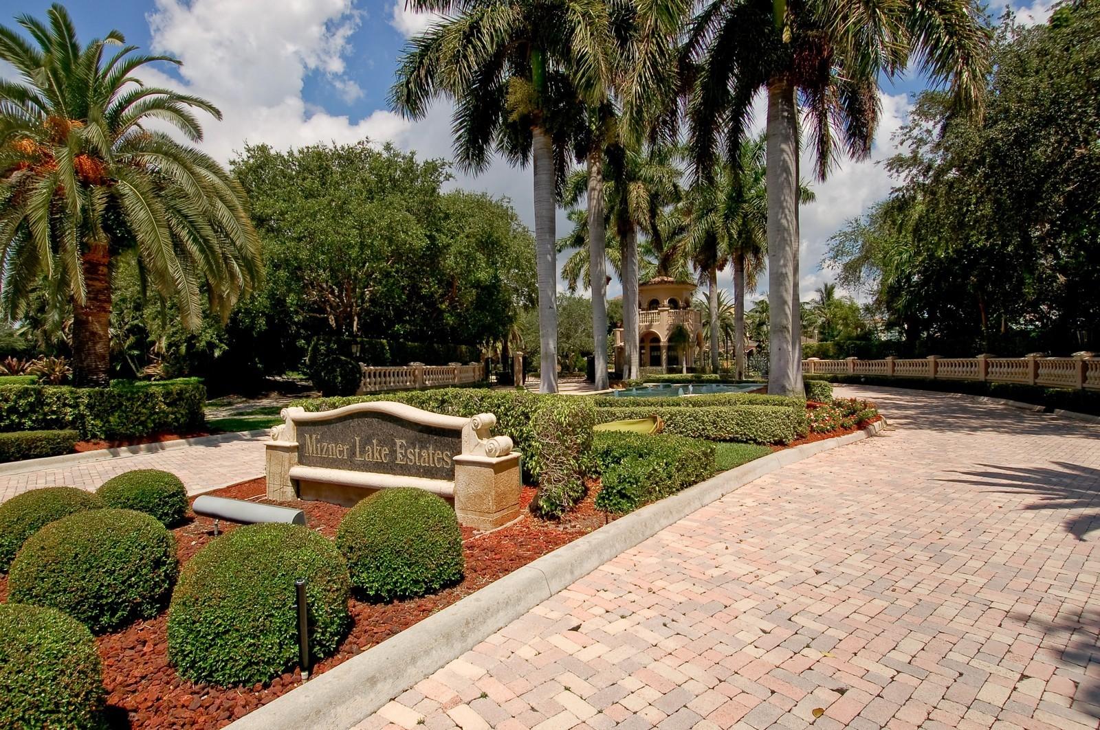 Real Estate Photography - 355 Mizner Lake Dr, Boca Raton, FL, 33432 - Entrance